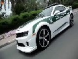 Chevrolet Camaro SS Dubai Police Force