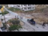Camera-man Filming The Syrian Rebels Last Fight