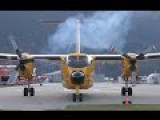 CC-115 DHC-5 Buffalo Engine Start-Up And STOL Takeoff