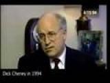 Cheney In 1994 On Iraq