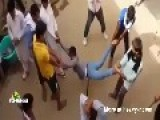 Cheating Man Gets A Public Caning