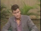 Charlie Sheen 1984 Interview