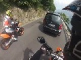 Crash KTM 690 SMC | GoPro Hero 3 Silver Edition