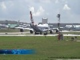 Cargolux 747-8 Freighter, Crazy Take-off