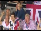 Chris Hoy's Mom Trying To Watch His Race