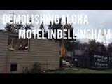 Crews Begin Demolishing Aloha Motel In Bellingham