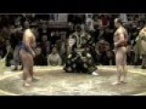 Clever Move By Sumo Wrestler