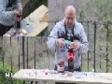 Coke + Nutella + Mentos + Durex = ITALIA World Record