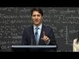 Canada Prime Minister Stuns Snarky Reporter By Explaining Quantum Computing
