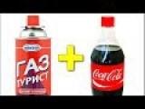 Coca Cola + Propane = Mega ROCKET