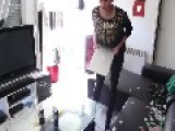 Crazy Girlfriend In France Finds Out Her Boyfriend Is Cheating.. So She Destroys His PS3 & Everything!