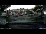 Car Runs Over Kids Head And Walks Away!!!