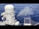 CIWS Live Fire Aboard The Aircraft Carrier USS John C. Stennis