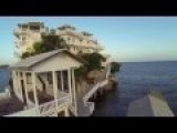 Check Out The Villa On Dunbar Rock In Guanaja Bay Islands