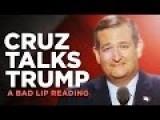 Cruz Talks Trump