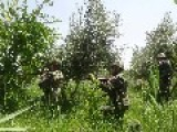 Counter-terrorist Operation Syrian Army In The Village Eastern Guta