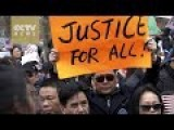Chinese Community Demonstrate To Demand Justice For Convicted Officer