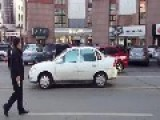 Chinese Prank Trying To Make Money By Pretending To Be Crushed By A Car