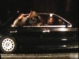 Car Morons,' Hotrod' Hoons Caught In The Act Of Being Clowns !...5 Sec Vid