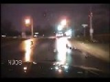 Cop Runs Over Suspect During Shootout Dash Cam