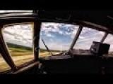 C-130 Cargo Plane Takeoff & Landing • Cockpit Camera