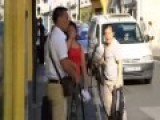 Chinese Street Fight In Paris HILARIOUS