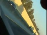 Caught On Cam: Truck Explodes On Highway After Being Struck