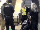 Cops Outnumbered In Subway By Drunk Junkies Feat. Signs Of Brawl