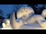 Coolest Snow Sculpture Ever