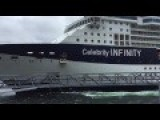 Celebrity Infinity Slams Into Ketchikan Dock 06 03 16