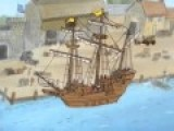 Charlie Brown On The Mayflower