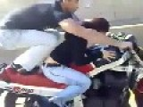 Crazy Motorbike Riding In Pakistan