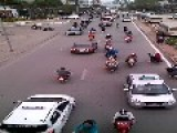 Crazy Traffic In Vietnam