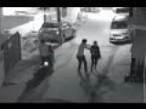 CCTV Shows Men On Scooters Attacking Woman In Bangalore