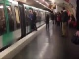 Chelsea Fans Prevent Black Man Boarding Paris Metro Train