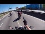 Compilation Of Motorcycle Only Police Chases @ Brazil