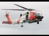 Coast Guard Air Station Kodiak, Alaska, MH-60 Jayhawk Helicopter Aircrew Medevacs Two Injured Crewmen