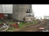 Canadian Chops Concrete Silo Down Like Tree