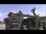 Conflict Israel Gaza Israeli Troops Back From Gaza Strip : RAW FOOTAGE