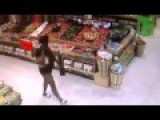 CCTV-Woman Steals Wine