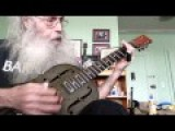 Crazy Old Fool On Blues Slide Guitar 12 Bar