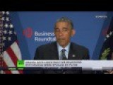 Cry-Baby Obama AGAIN Blames Russian President Putin For Decline In Relations