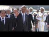 Compare! Obama And Putin Arrive In Hangzhou, China