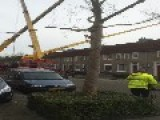 Crane Falls On House, Twice!!
