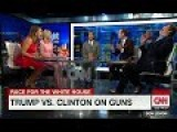 CNN Panel Bursts Into Laughter After Trump Advisor Says Hillary Will Destroy 2nd Amendment