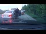 Car Robbery Captured On Dash Camera