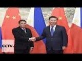 Chinese President Pledges Full Support And Commitment To Philippines After It Declares Independence From US