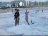 Canard Surfing