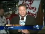 Cardinals Fan Tries To Kiss Pittsburgh Reporter Live On-Air