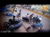 Cctv Leaked Accident Bike With Woman